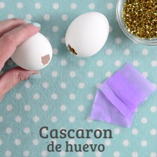Huevitos de pascua decorados