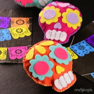 Calaveritas de Fieltro