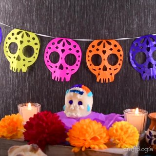 Papel Picado de Calaverita