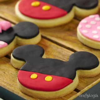 Galletas de Mickey y Minnie Mouse