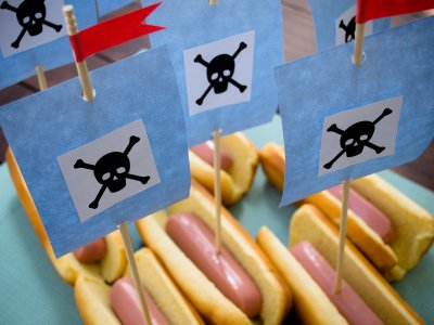 Receta de Barcos de Hot Dog